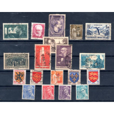 1934-1944 France Various Used