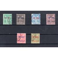 1893 Γραμματόσημα Γαλλίας με επισήμανση PORT LAGOS