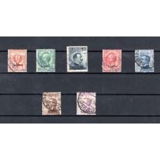 1912 Γραμματόσημα Ιταλίας 1901-1911 επισημασμένα