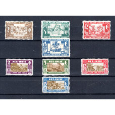 1941-1942 Dutch East India Various