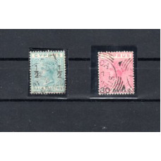 1882 Stamps 1881-1882 Overprinted