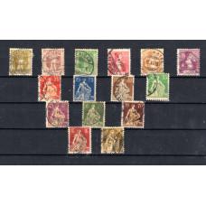 1907-1917 Ελβετία