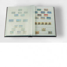 Stamp Album with 16 pages