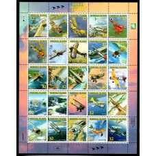 1996 Marshall Islands World's Legendary Biplanes