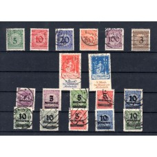 1923 Used Stamps