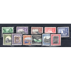 1934 Definitive Pictorial Stamps of George V