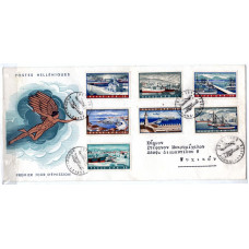 1958 Ports of Greece FDC