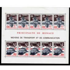 1988 Monaco Europa CEPT