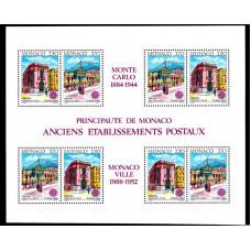 1990 Monaco Europa CEPT