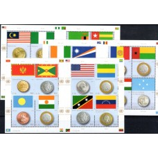 2013 United Nations Flags and Coins