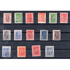 "1912-1913 Typographic Overprint ""ΕΛΛΗΝΙΚΗ ΔΙΟΙΚΗΣΙΣ"""
