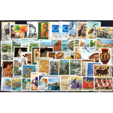 Various Greek Stamps Used