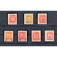 1909 Overprints on stamps of Cretan Administration