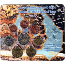 2012 Official Issue Hellenic Eurocoin set
