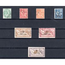 """1902-1903 Γραμματόσημα Γαλλίας με επιγραφή """"CAVALLE"""""""