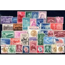 1956-1958 Αμερική Σφραγισμένα Διάφορα
