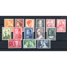 1957 Royal Family and Similar Portraits 2nd Issue