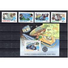 1983 Αγία Λουκία Έτος Παγκόσμιων Επικοινωνιών