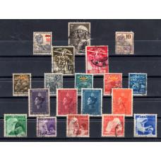 1934-1937-1938 Dutch East India Various