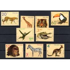 1972 Poland Wild Animals