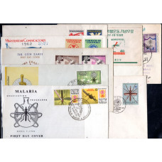 1962 FDC Various