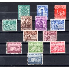 1955 Indonesia Various