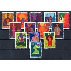 1967-1971 Άγιοι Λιχτενστάιν