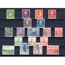 1935-1937 Denmark Various