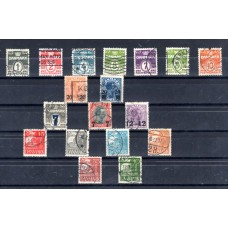 1926-1933 Δανία Διάφορα