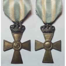 Cross of Valour, III class  (silver cross) 1913.