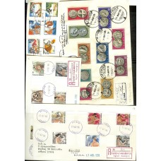 1959-1986-1987 various unofficial first day covers